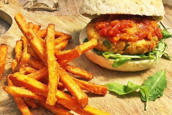 Hajé's vega burger