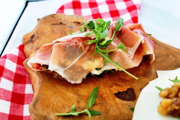 Broodje serranoham