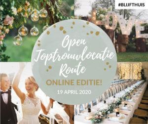 Open Toptrouwlocatie Route zondag 19 april 2020 - Online editie
