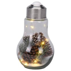 Kerstlamp met dennenappel