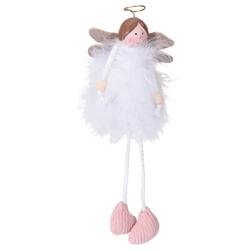Kersthanger engel (wit)