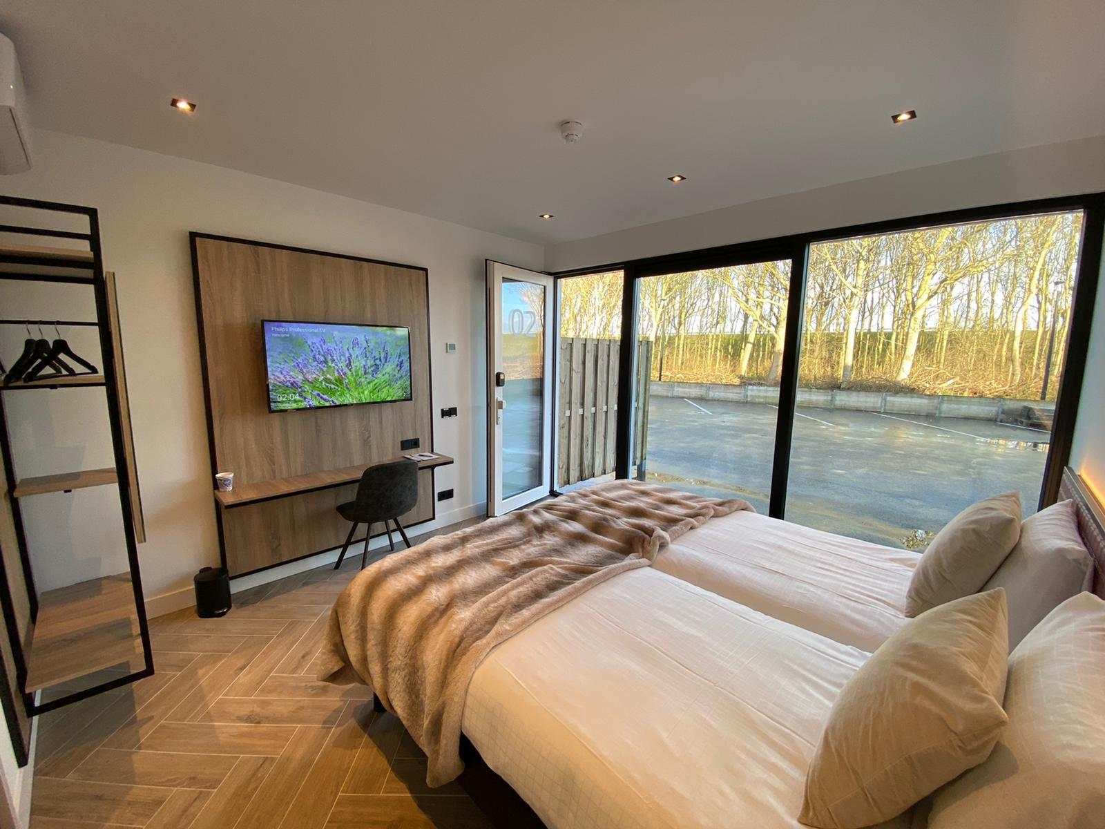 2021 | Hotelkamers Hajé Afsluitdijk Zurich